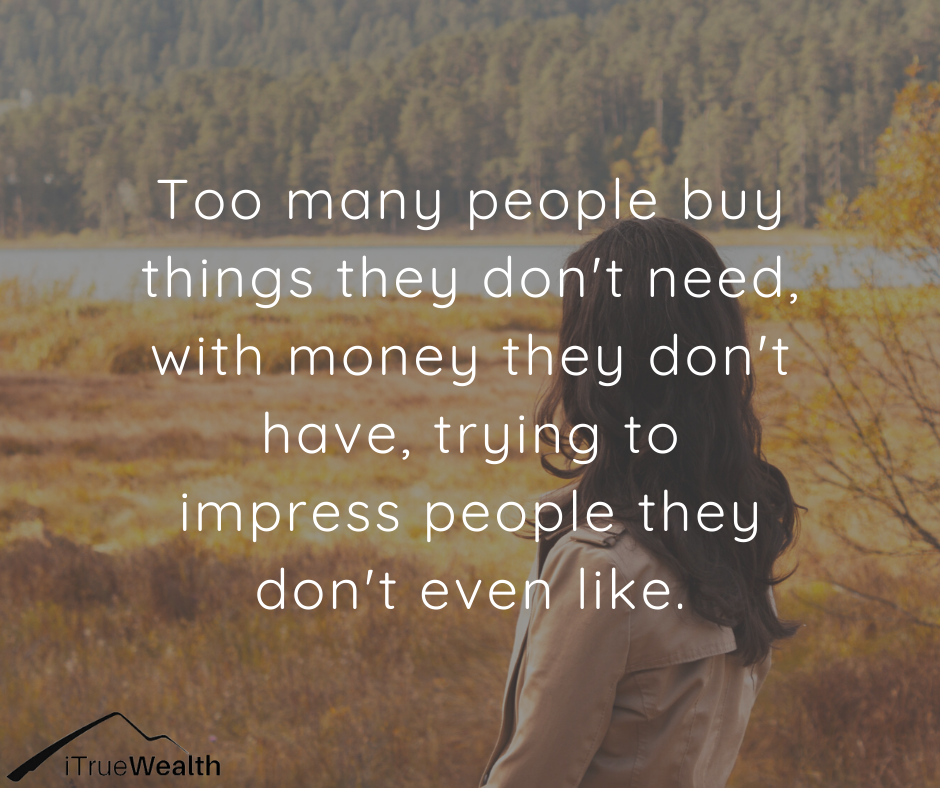 Buy Things They Dont Need