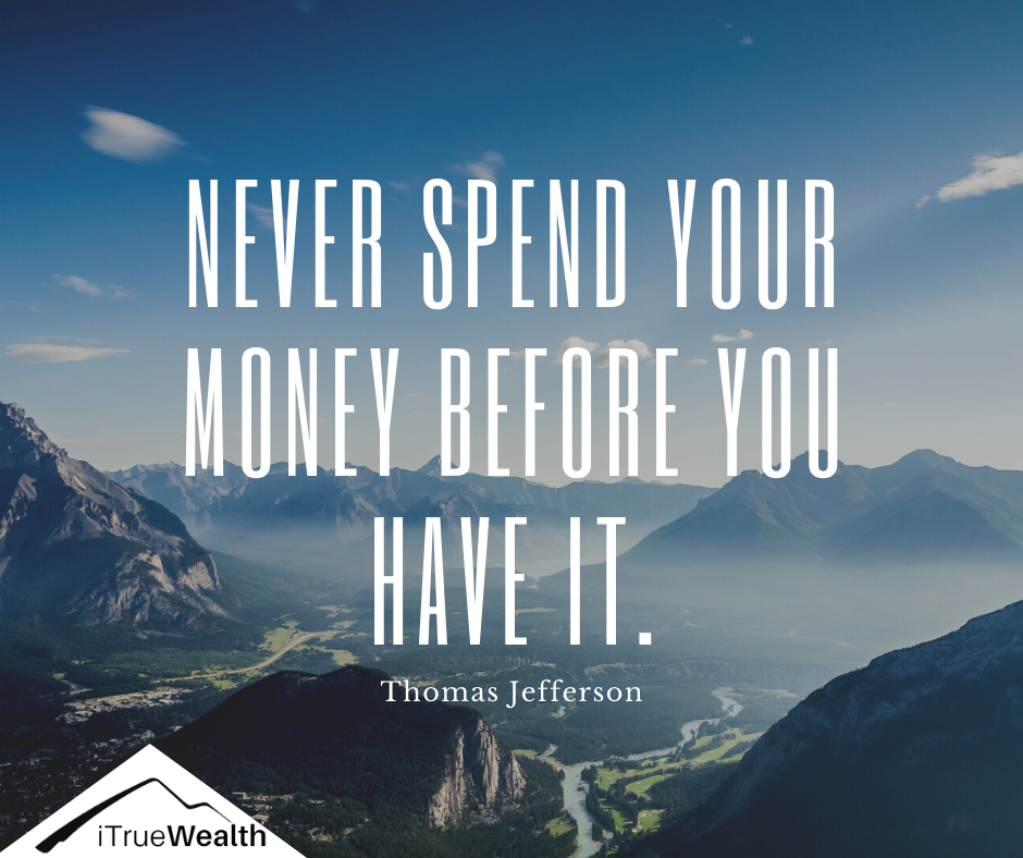 Never Spend Your Money